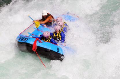 Rafting in Gastein