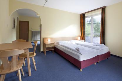 Mehrbettzimmer im Euro Youth Hotel Krone