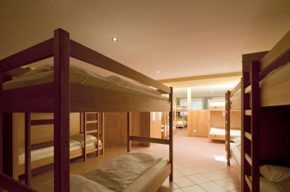 Schlafsaal im Euro Youth Hotel Krone